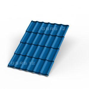 Металлочерепица - сигнально-синий