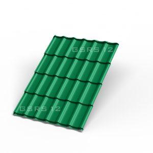 Металлочерепица - зеленая мята