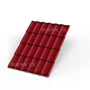 Металлочерепица - рубин