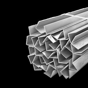 Металлический угол горячекатаный 45х45х4,0х12000